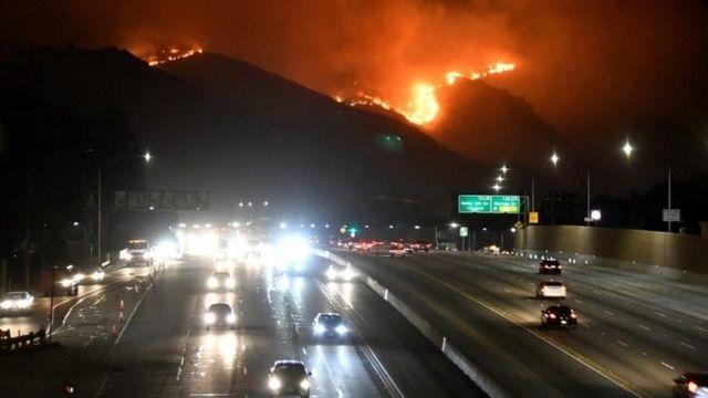 ABD'de yangınlar