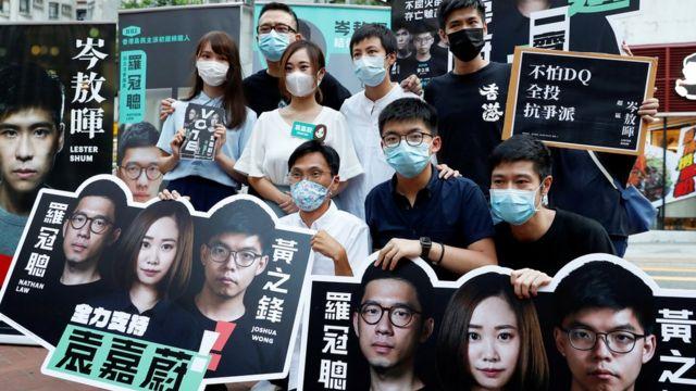 香港民主派去年七月举行初选,以决定派出哪些人士参加原定去年九月举行的立法会选举。