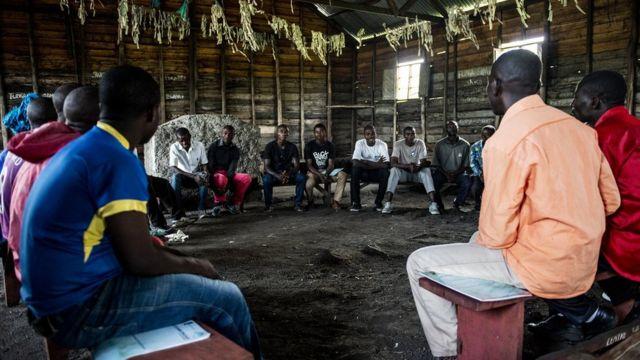 Reuniões da Rede de Homens do Congo