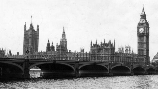Лондон, 1950-е гг.