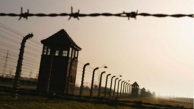 Torre do campo de concentração de Auschwitz
