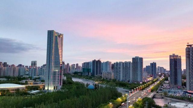 City in Xinjiang