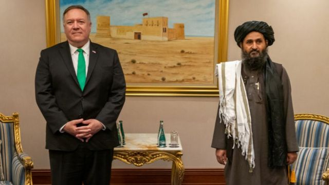 Afganistán   Qué es el Acuerdo de Doha firmado entre el gobierno de Trump y  el Talibán y por qué ha sido clave para que los islamistas recuperen el  poder - BBC