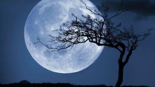 """تحتل مناقشة """"القمر الأزرق"""" و""""الهالوين"""" حاليا مساحة كبيرة على منصات التواصل الاجتماعي"""
