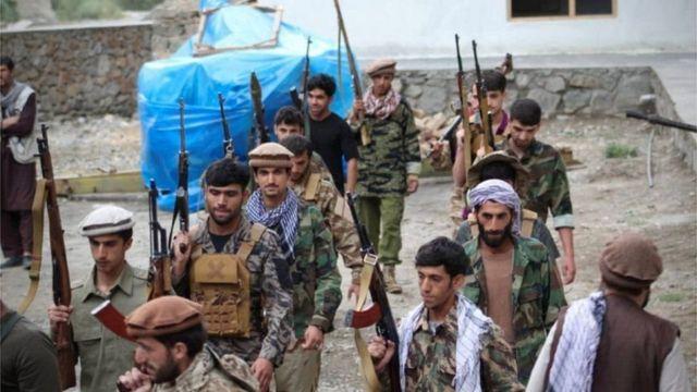 """نیروهای """"مقاومت ملی"""" در افغانستان"""