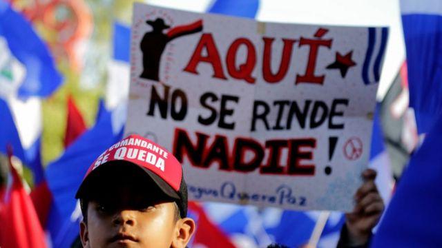 Simpatizante de Daniel Ortega