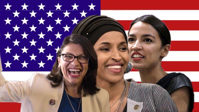 عضوات الكونغرس الثلاث