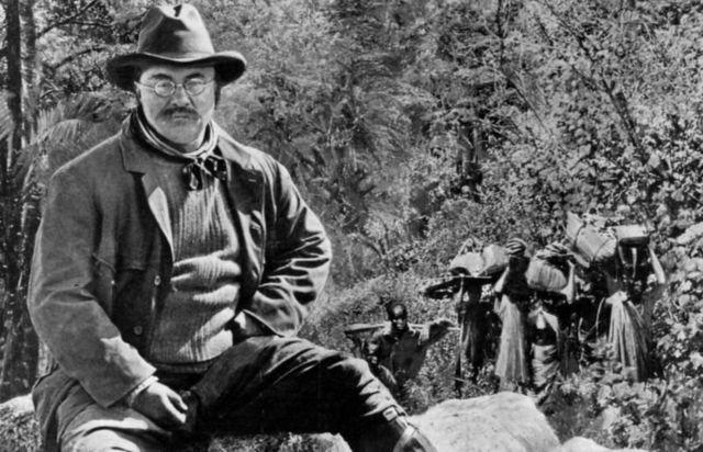 老罗斯福总统喜欢打猎