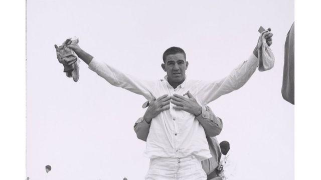 Danny Lyon (1942), Cacheo en Ellis Unit, Texas, 1968