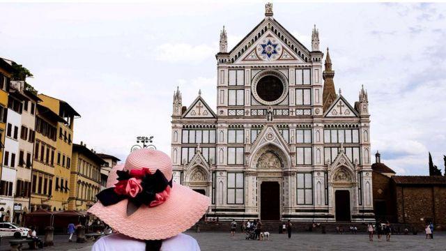 Стендаль писав, що відвідування базиліки Санта-Кроче справило на нього велике враження