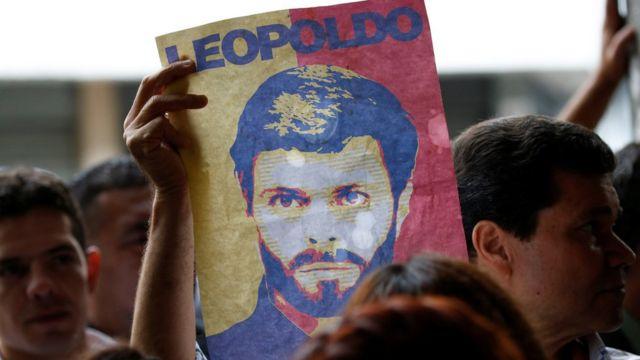Leopoldo López fue condenado a más de 13 años de cárcel en septiembre del año pasado.