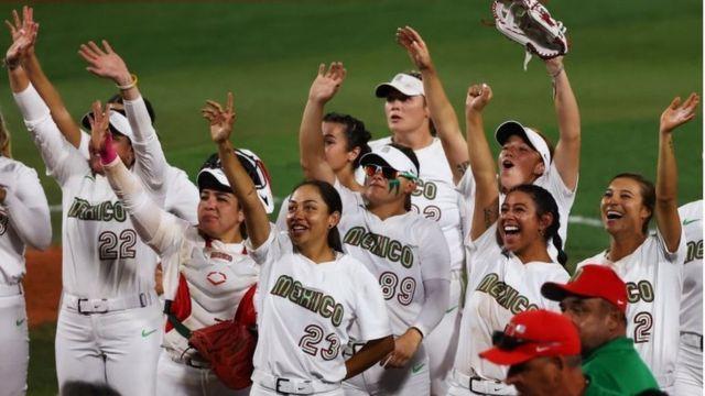Jugadoras de sóftbol de México en Tokyo 2020