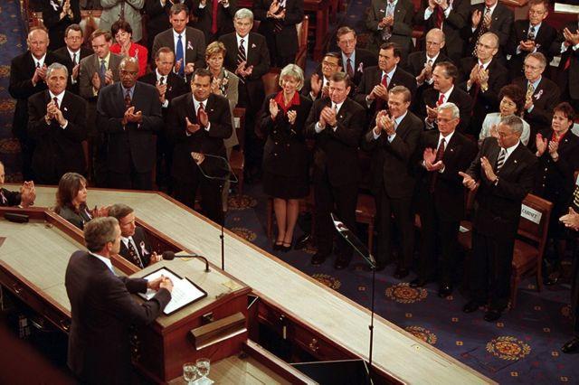Буш в Конгрессе