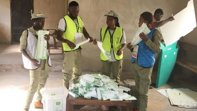 INEC say Saturday voting start by 8 O'clock for 98 per cent of all di 2451 polling units.