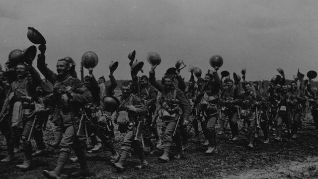 Soldados britânicos na Primeira Guerra Mundial