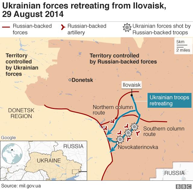 Map of Ilovaisk