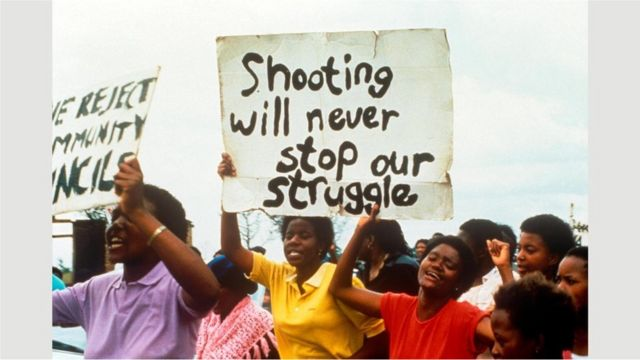 Mapantsula filmi, Güney Afrika