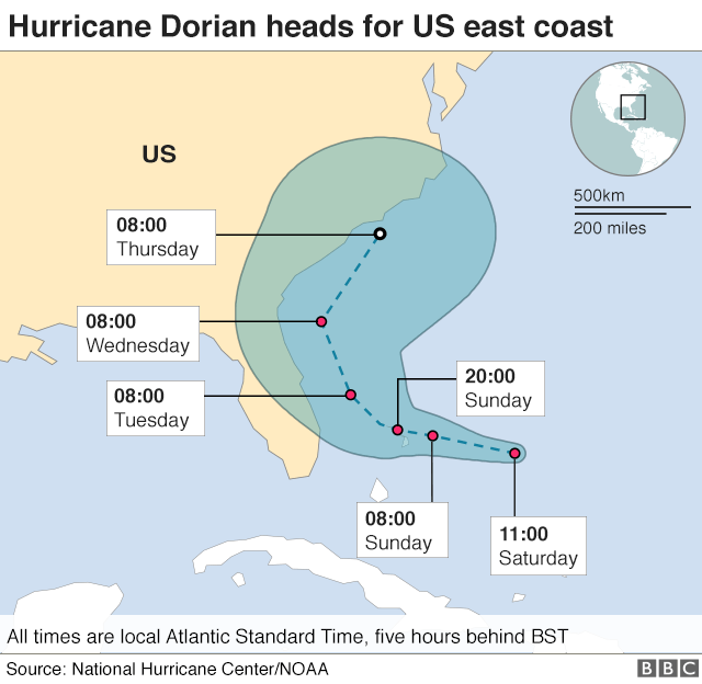 Dorian map