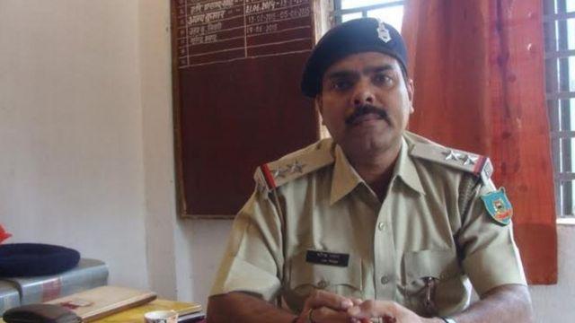 नारायपुर थाने के नए प्रभारी सुरेंद्र प्रसाद.