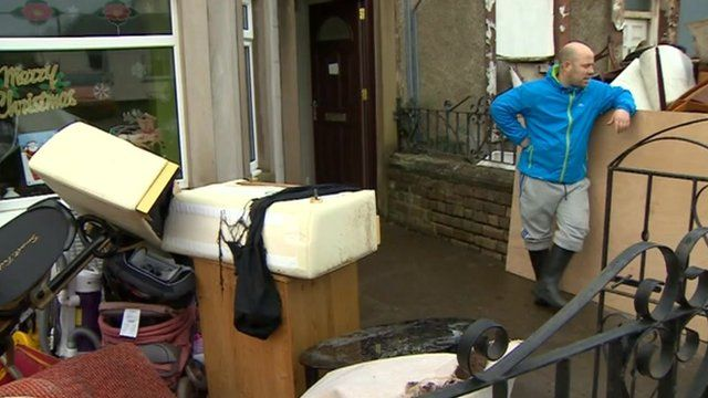 Aftermath of Cumbria floods