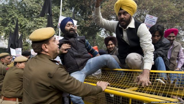 police role in 1984 sikh riots