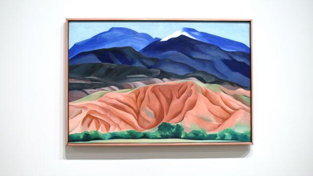 Пейзаж черной мезы, 1930, by Georgia O'Keeffe