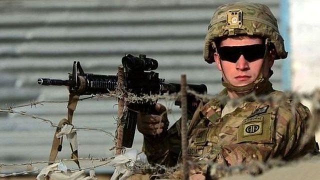 अमरीका सैनिक, अफ़ग़ानिस्तान