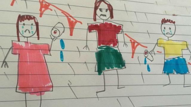 Desenho no blog Peter and Jane