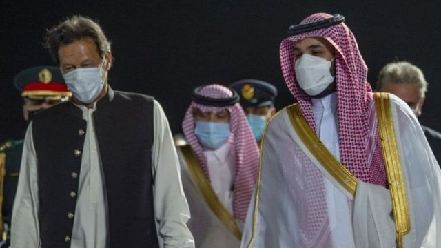 इमरान ख़ान और सऊदी क्राउन प्रिंस