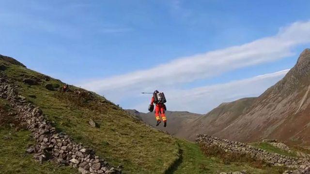 গ্র্যাভিটি ইন্ডাস্ট্রিসের রিচার্ড ব্রাউনিং ইংল্যান্ডের লেক ডিস্ট্রিক্ট পাহাড়ে এই পরীক্ষা চালিয়েছেন ২০২০র সেপ্টেম্বর মাসে