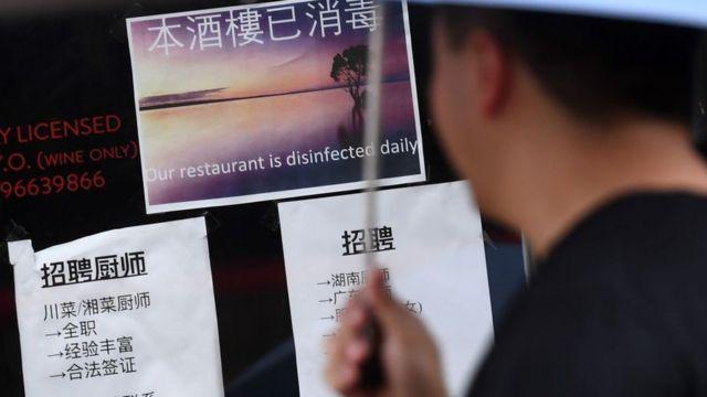 唐人街:种族歧视和封锁隔离中挣扎求生(photo:BBC)