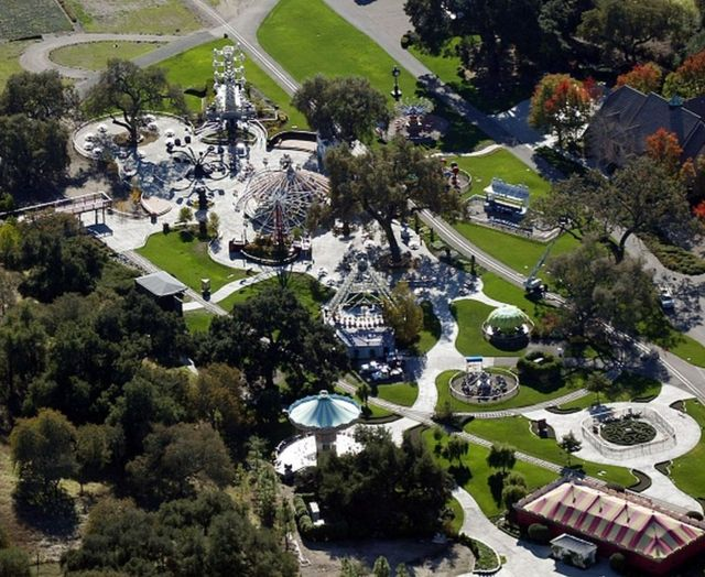 The Neverland ranch