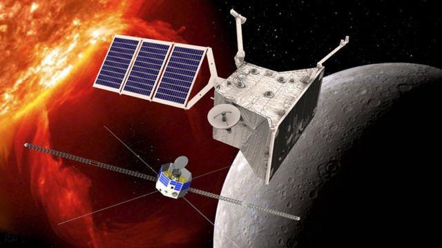 Два аппарата у Меркурия