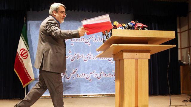 عبدالرضا رحمانی فضلی، وزیر کشور