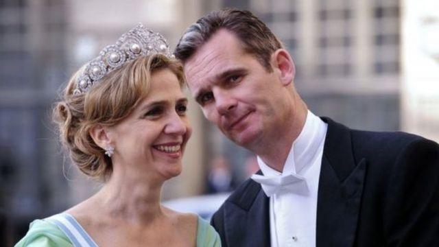 الأميرة كريستينا وزوجها