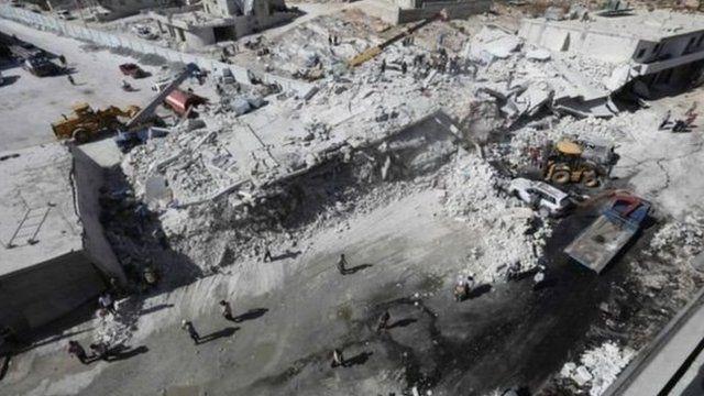 ادلب، در شمال غربی سوریه آخرین منطقهای است که دست مخالفان حکومت است.