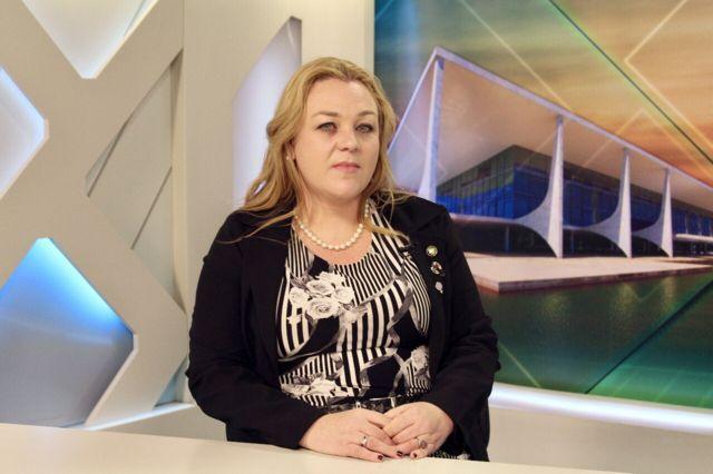 A secretária Nacional de Políticas para Mulheres, do Ministério dos Direitos Humanos, Andreza Colatto