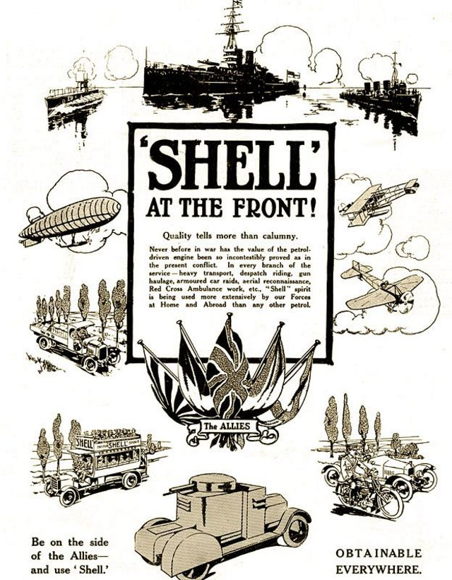 Propaganda de Shell