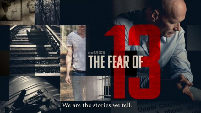 """Póster del documental """"The Fear of 13"""", que cuenta la historia de Yarris."""