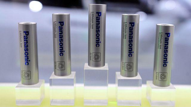 Baterías Panasonic.