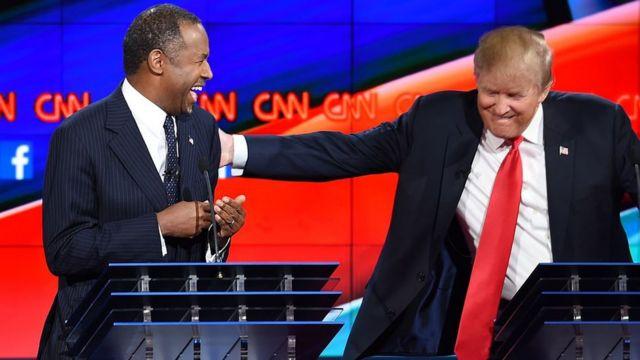 Ben Carson y Donald Trump