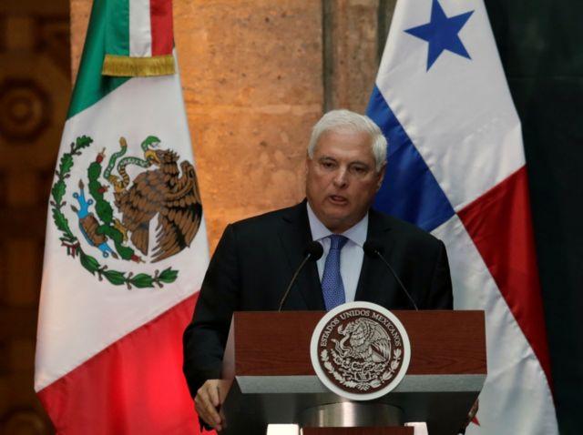 El empresario fue presidente de Panamá entre el 2009 y 2014.
