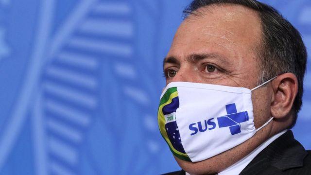 Pazuello em evento em Brasília