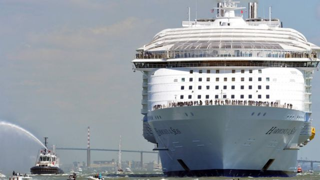 Aaron Heslehurst looks at what there is to do on board the world's largest  cruise ship