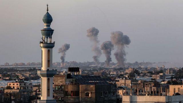 Gaza el 13 de mayo.