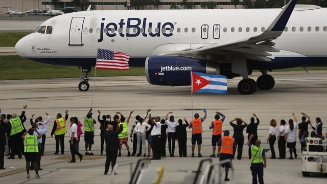 Самолет JetBlue