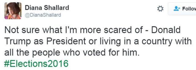 डाएना शैलार्ड का ट्वीट