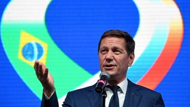 ロシア五輪委のアレクサンドル・ジューコフ会長