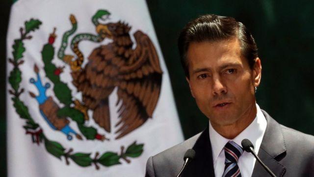 ペニャニエト大統領はメキシコ人の安全確保が優先事項だと語った
