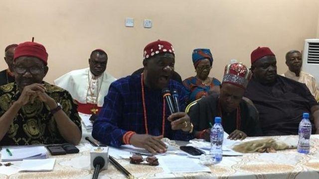 Nnia Nwodo,Emmanuel Iwunanyanwu na ndị ọzọ nwere agba